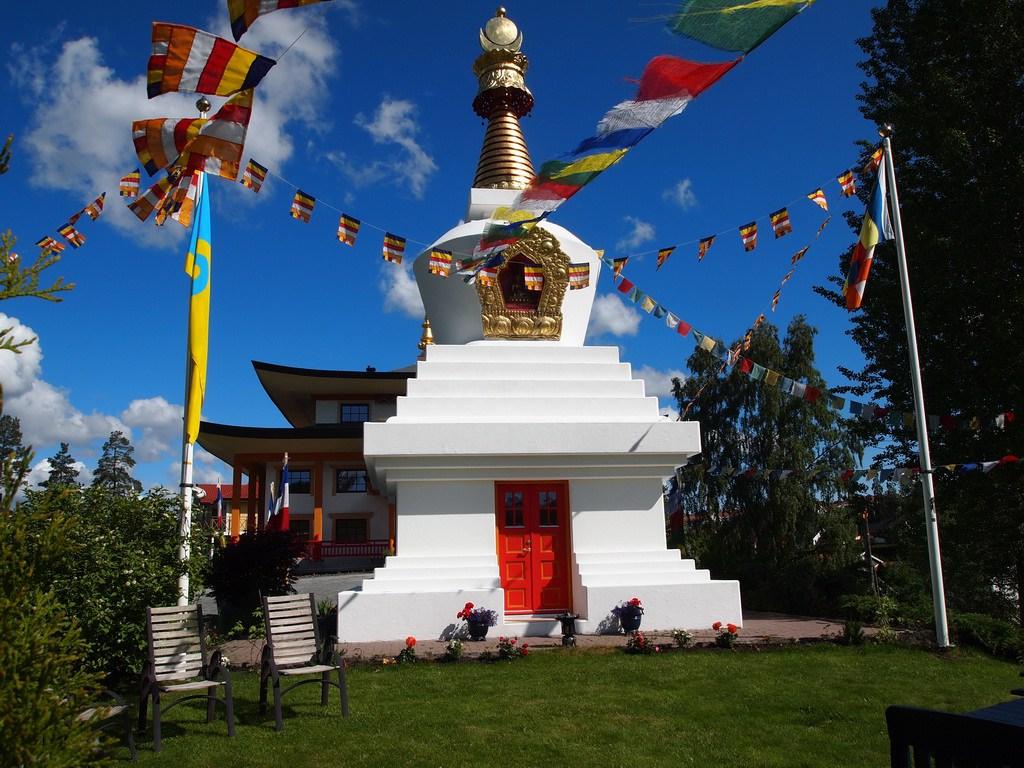 Vandring til Karma Tashi Ling buddhistsamfunn