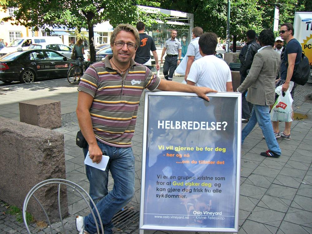 Assisterende pastor i Vineyard Oslo: Aslak Rønneseth
