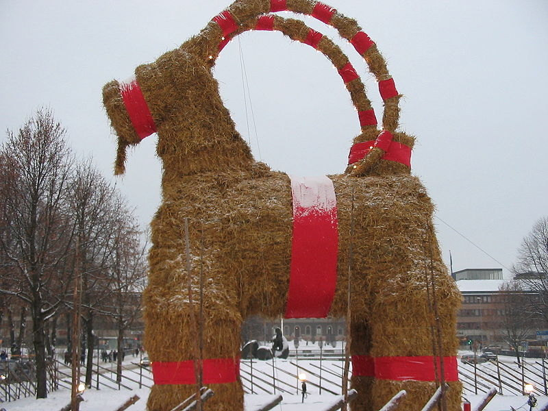 Julebukken Gavle. Foto. Baltica. Wikimedia Commons.