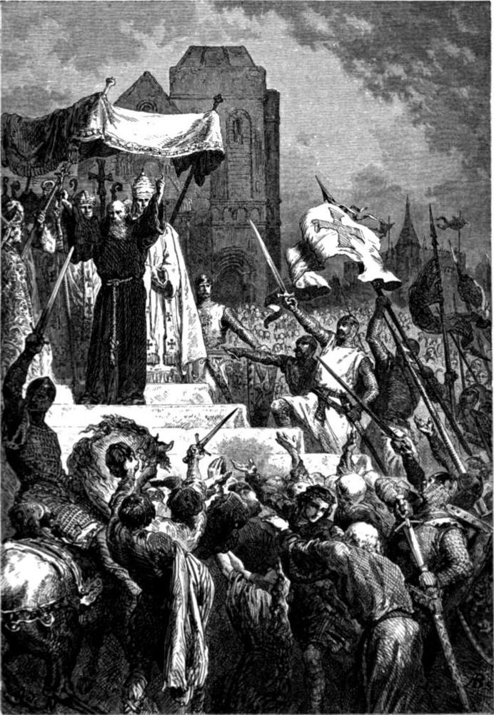 Gud vil det. Av Alphonse-Marie-Adolphe de Neuville. 1883. Wikimedia Commons.