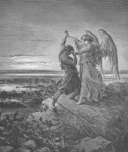 fig. 2 jakob og engel (gud)