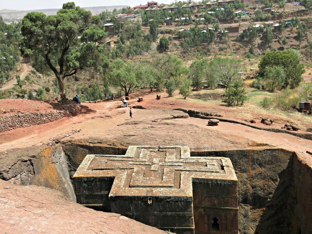 Etiopisk kirke. Foto. Veronica Gundersen
