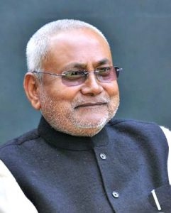 Nitish Kumar, Delstatsminister i hardt vær - Wikimedia Commons