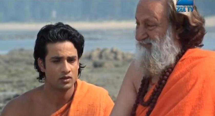 Skjermdump fra fjernsynsserien Buddha på ZeeTV.