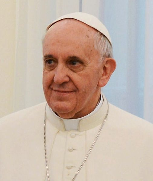 Pave Frans I. Kilde: presidencia.gov.ar - Wikimedia Commons.