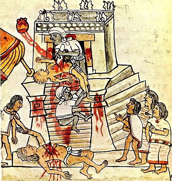 Extract of Codex Magliabechiano cf. FAMSI Foundation for the Advancement of Mesoamerican Studies, Inc.