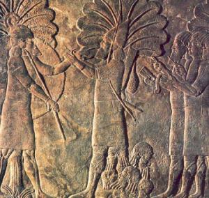 Assyrisk halshogging