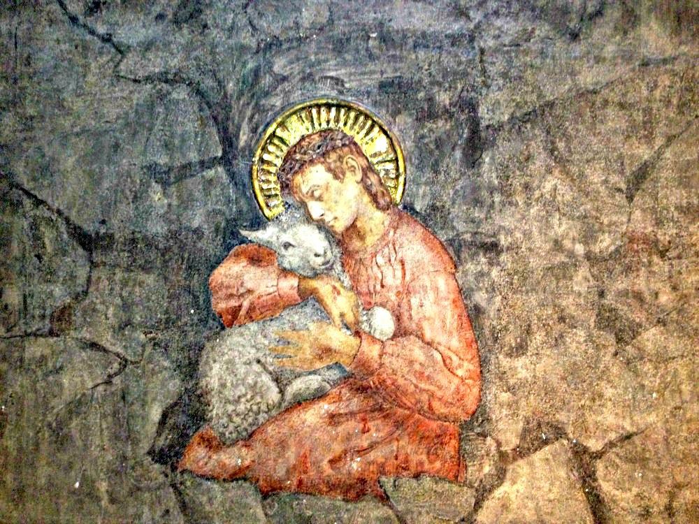 Freske av Emanuel Vigeland i Vålerenga kirke