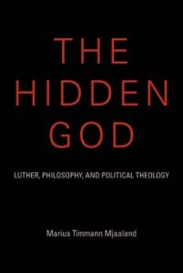 Aktuell bok: The Hidden God Utgitt på Indiana University Press