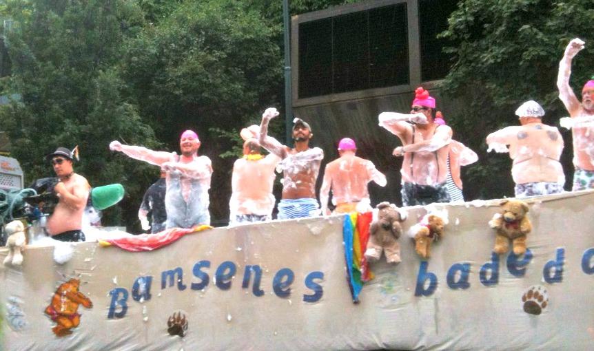 Homoparade gjennom Grønland i Oslo, 2013. Foto: Hans Olav Arnesen
