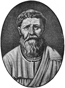 Augustin av Hippo. Ukjent kunstner. Kilde: WIkimedia Commons.