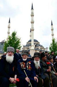 """Tsjetsjenere regnes ofte som en trussel. Ikke bare rent sikkerhetsmessig, men også mot """"russiskhet"""". Foto: Wikimedia Commons"""