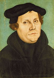 Martin Luther av Lucas Cranach (1528) - Wikimedia Commons.